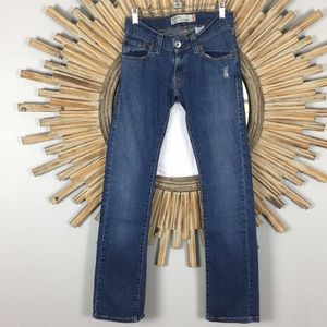 Levi's Jeans Sz 1 EUC Slouch/Straight